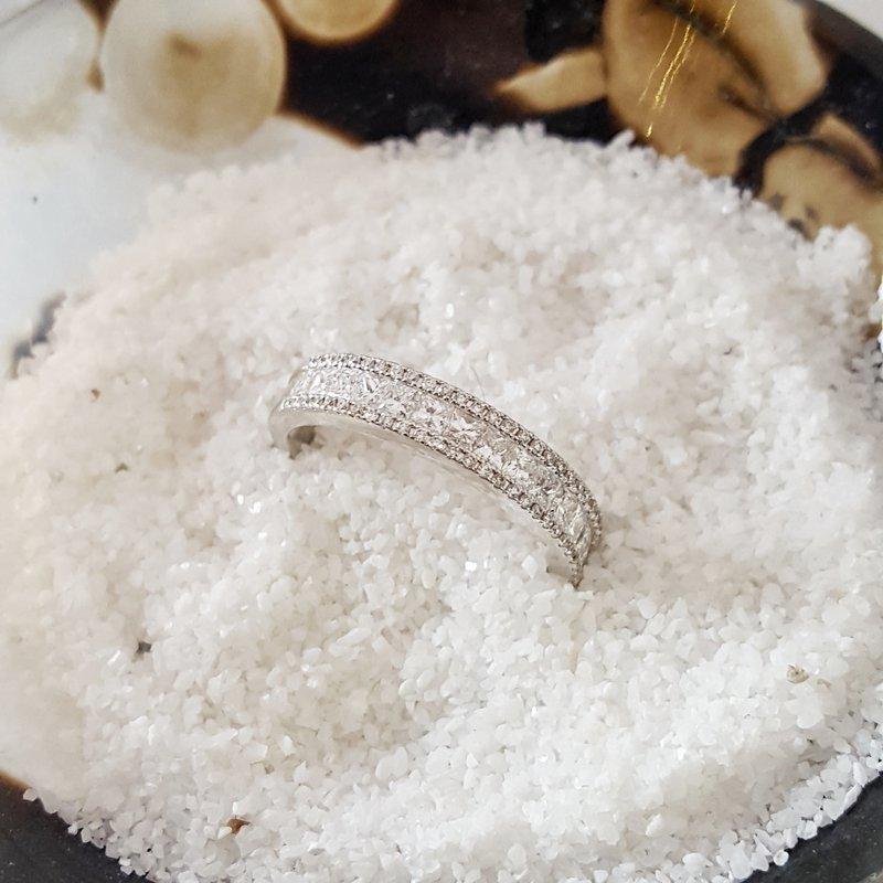 Sami Fine Jewelry Crushed Ice Diamond Band
