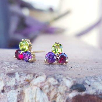 Berry Explorer Earrings