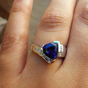Bold Trillion Ring