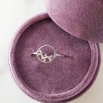 Sami Fine Jewelry Cascade Circle Ring