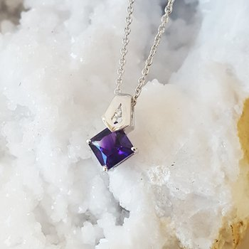 Amethyst Princess Necklace