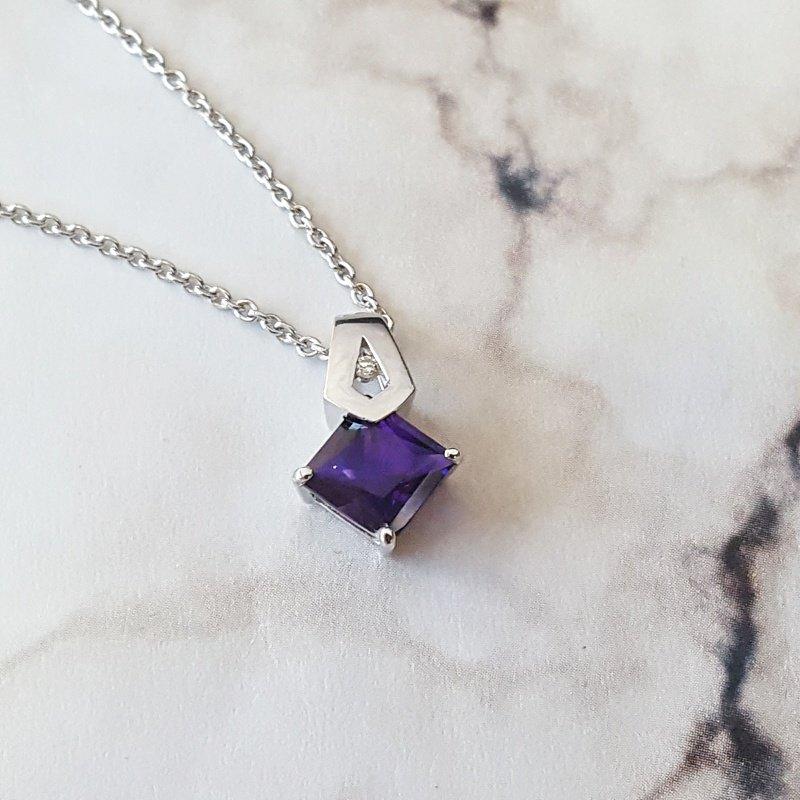 Arizona Amethyst™ Gold Jewelry Amethyst Princess Necklace