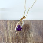 Arizona Amethyst™ Gold Jewelry Cascade Amethyst Pendant