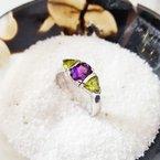 Arizona Amethyst™ Silver Jewelry Arizona Explorer Ring
