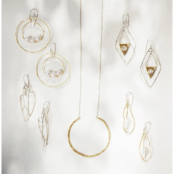 Mecca Moonstone Earrings