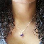 Arizona Amethyst™ Silver Jewelry Arizona Amethyst Overlay Pendant