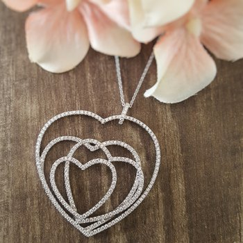 Endless Hearts Necklace