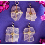 Waxing Poetic Touchstones - Heart Infusion Rose Quartz Talisman