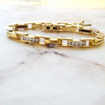 Bold Diamond Bracelet