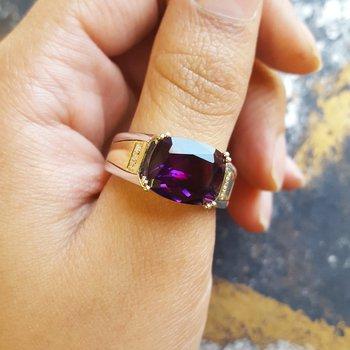 Two Tone Men's Ring