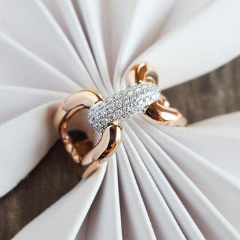 Chain Diamond Ring