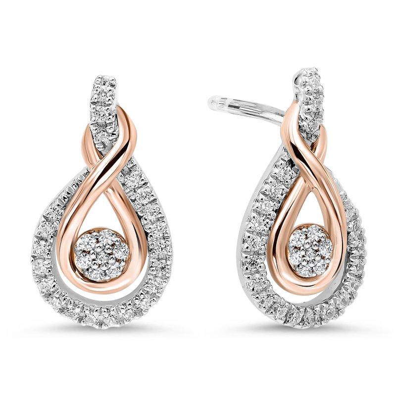 Sami Fine Jewelry Love's Crossing Earrings