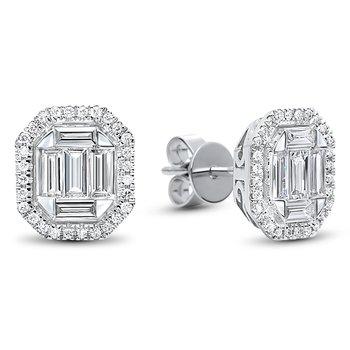 Multi-Diamonds Studs