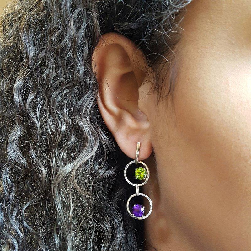 Arizona Explorer Collection Two Stone Earrings