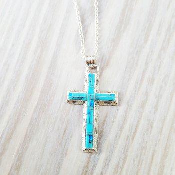 Modern Cross Pendant
