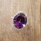 Arizona Amethyst™ Gold Jewelry Oval Extravagance Ring