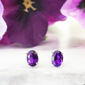 Essential 1 1/2CT Oval Studs