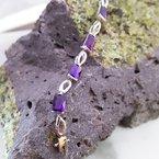 Arizona Amethyst™ Gold Jewelry Radiant Bracelet