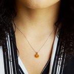 Sami Fine Jewelry Laser Cut Citrine Pendant