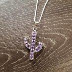 Arizona Amethyst™ Silver Jewelry Saguaro Cactus Budget Necklace