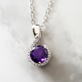 Half Halo Necklace