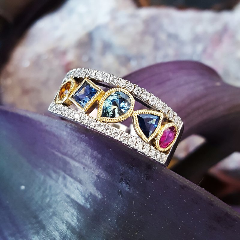 American Gem Collection™ Sapphire Shuffle
