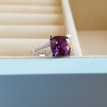 Alexandrite Statement Ring
