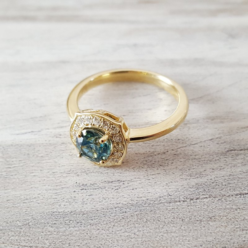 American Gem Collection™ Montana Sapphire Ring