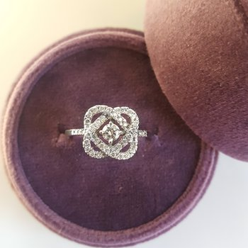 Hearts Intertwined Ring