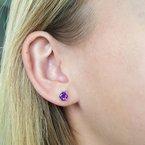 Arizona Amethyst™ Gold Jewelry Amethyst Studs