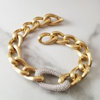 Allison-Kaufman Chain Link Bracelet