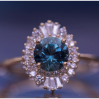 American Gem Collection™ Sunburst Ring