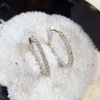 Sami Fine Jewelry 1 Carat Inside-Outside Hoops