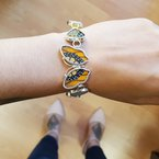 Butterflies & Myths Monarch Center Bracelet