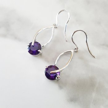 Overlapping Dangle Earrings