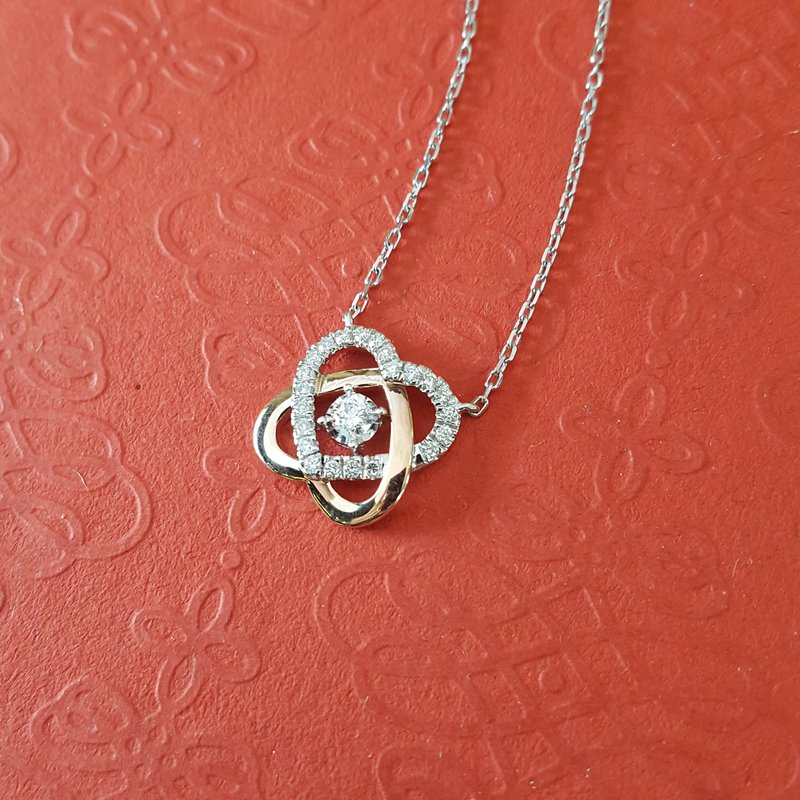 Sami Fine Jewelry Double Heart Necklace