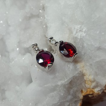 Diamond Accent Earrings