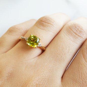 Classic Peridot Ring