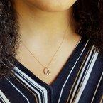 Sami Fine Jewelry Oval Cascade Necklace