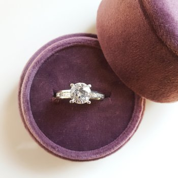Tiffany Set Engagement Ring
