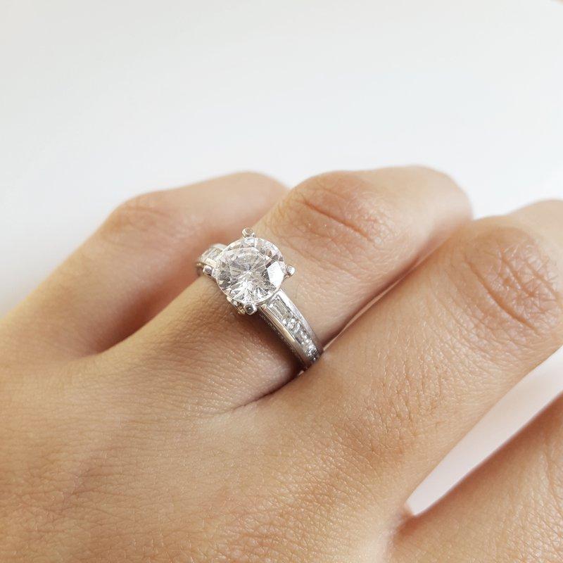 Sami Fine Jewelry Tiffany Set Engagement Ring