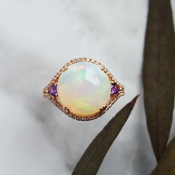 Opal Gemstone Ring