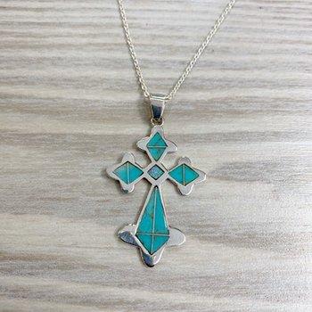 Antique Cross Pendant