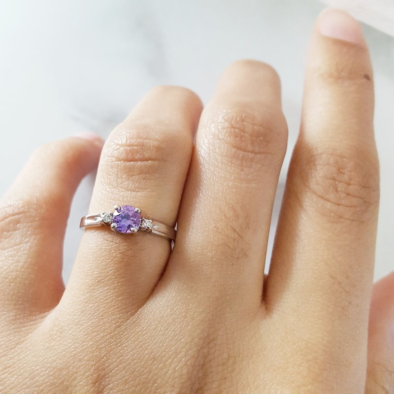 Sami Fine Jewelry Alexandrite Ring