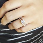 Sami Fine Jewelry Open Band Engagement Ring