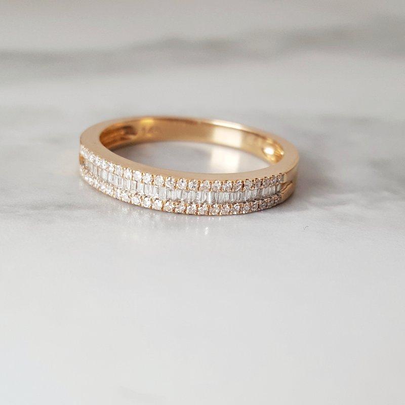 Sami Fine Jewelry 3 Row Band