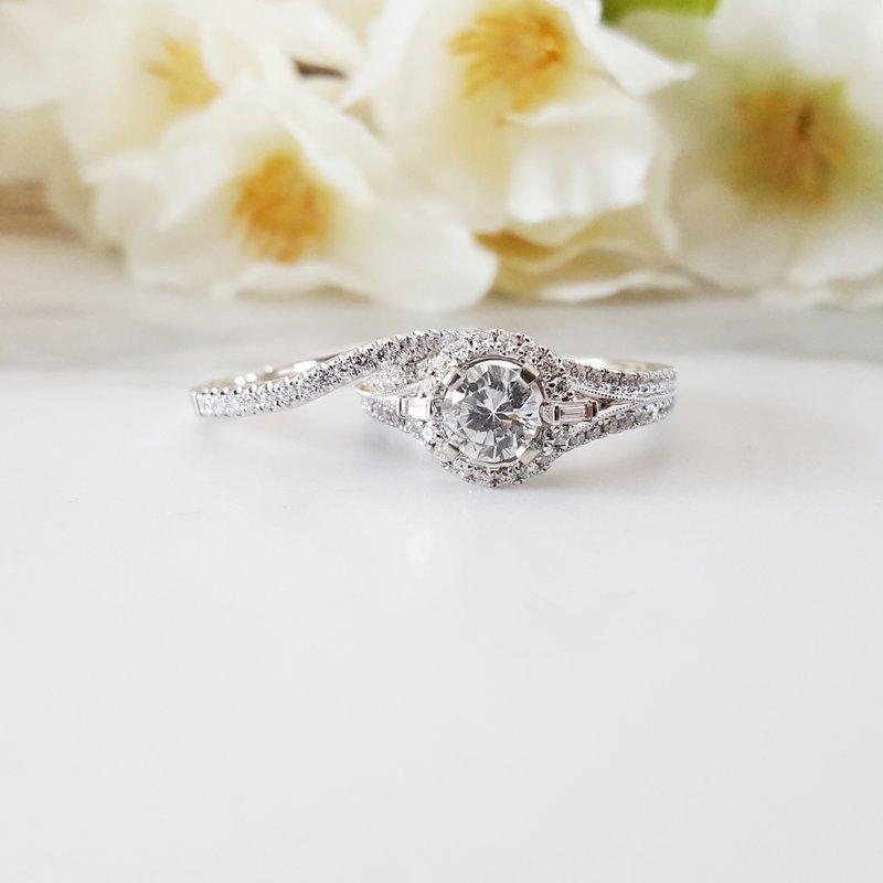 Sami Fine Jewelry Timeless Wedding Set