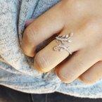 Sami Fine Jewelry Diamond Floral Wrap Ring