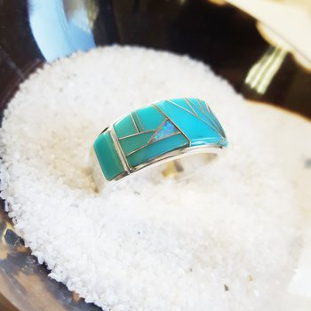 Geometric Vein Ring