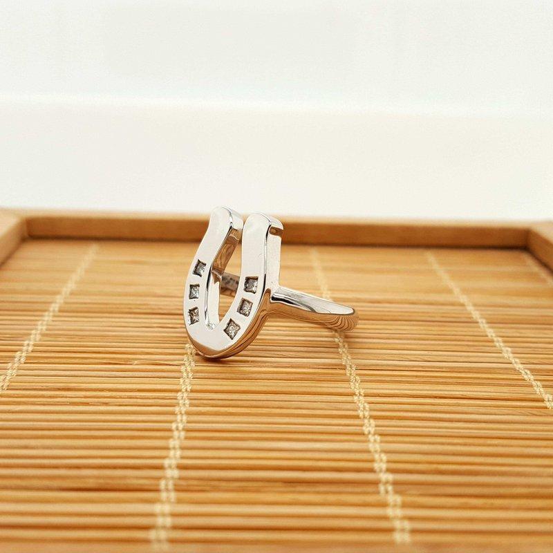 Animal Rockz™ 14K Diamond Sliding Shoe Ring